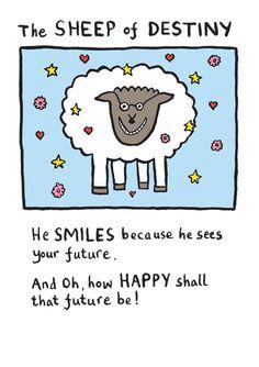Edward Monkton Constellation Sheep