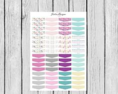 On Sale Purple Paisley Monthly Planning Sticker by JaloveDesigns