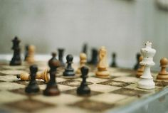 Schachmatt by -_anke_- #flickstackr  Flickr: http://flic.kr/p/rtGLF4