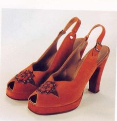 Vintage Women's Shoes - Fashion 1940s.org | The 1940's