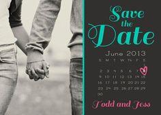 Invitaciones de boda civil: Un Save the Date muy original!