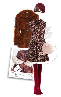 """""""Bad Day, Bad Beanie"""" by pippi-loves-music ❤ liked on Polyvore featuring Isa Arfen, Fendi, Topshop, Aquazzura and beanies"""
