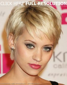 Short+Hair+Styles+For+Older+Women   The boyish short hairstyles 2013 women are often picked for its cool ...