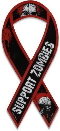 Support Zombies ribbon