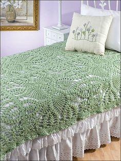 Ravelry: Regency Square pattern by Maggie Weldon - Gorgeous throw! Pattern not free. Manta Crochet, Crochet Granny, Crochet Doilies, Crochet Afghans, Crochet Blankets, Crochet Home, Crochet Crafts, Crochet Designs, Crochet Patterns