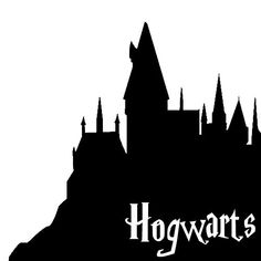 Hogwarts House VInyl Sticker/Decal by SheWolfMedia Harry Potter Stencils, Deco Harry Potter, Harry Potter Painting, Harry Potter Stickers, Harry Potter Classroom, Harry Potter Drawings, Harry Potter Room, Hogwarts Silhouette, Harry Potter Silhouette
