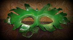 Greenman A Woodland Spirit by LegendaryLeather on Etsy, $40.00
