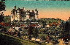 Pierrefonds France 1906 Chateau de Pierrefonds Church Antique Vintage Postcard