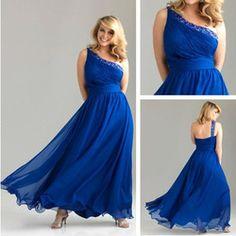 pink purple and blue plus size bridesmaid dresses | ... cheap plus ...