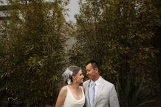 Wedding couple. Green background. casa Natalie. Ensenada, Mexico