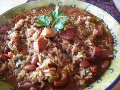 Spicy Cajun Jambalaya with Moist Skillet Cornbread