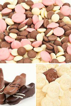 Buttons, Boots and Chocolate Sheep. Chocolate Day, Chocolate Factory, Chocolate Gifts, White Chocolate, 4th Of July Celebration, Handmade Chocolates, Chocolate Strawberries, Ireland, Sheep