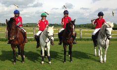 Abbotsholme pupils in polo team #abbotsholmeschool #sport #equestrian #polo