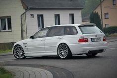 BMW E46 M3 Touring white