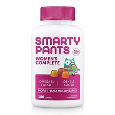 SmartyPants Women's Complete is more than a multivitamin. We're the galaxy's best tasting gummy vitamin, packed with essential nutrients, including vitamin D3, and omega 3 fish oil – all in one. We use premium ingredients and include the forms of nutrients that are easily absorbed by the body whe... more details at http://supplements.occupationalhealthandsafetyprofessionals.com/vitamins/multi-prenatal-vitamins/multivitamins/product-review-for-smartypants-womens-comple