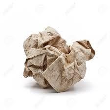 Znalezione obrazy dla zapytania crushed paper