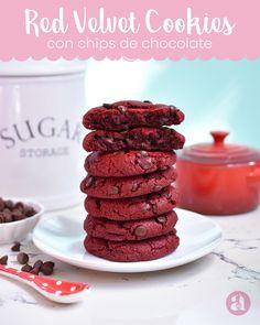 Red Velvet Cookies súper deliciosas - Anna's Pasteleria