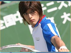 He also plays tennis pala...  :3
