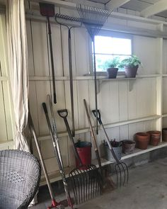 Simple potting shed ideas! Will Smith, Wardrobe Rack, Shed, Gardens, Country, Simple, Furniture, Ideas, Home Decor