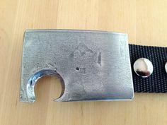 Bottle Opener Belt Buckle Stainless Steel Hand by metalogical