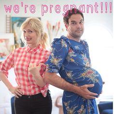BEST PREGNANCY ANNOUNCEMENT EVER!!!!!!!!!!!!!!!!!!!!
