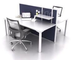 Smart50 2 Person Double Sided Workstation by JP Office Workstations http://www.jpofficeworkstations.com.au/