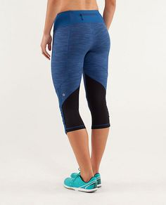 run: for your life crop | women's crops | lululemon athletica - limitless blue wee space