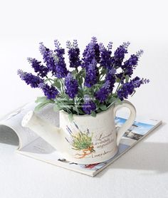 Aliexpress.com : Buy 2013 HOT High artificial flower silk plastic 10 heads provins lavender 3 colors free shipping for home party NO VASE from Reliable silk orchid suppliers on Lore 's Decoration Flowers Store. $38.99