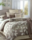 JLA Home Angelica 12 Piece Jacquard Queen Comforter Set Bedroom Colors, Bedroom Decor, Bedroom Ideas, Bedroom Stuff, Bedroom Inspiration, Dream Bedroom, Master Bedroom, Full Comforter Sets, Bed Sets