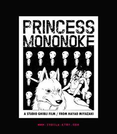 Princess Mononoke // Miyazaki and Ghibli Art Print