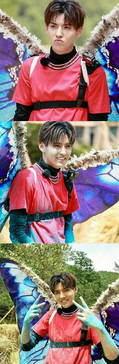 Kris makes a sexy butterfly Park Chanyeol Exo, Kyungsoo, Ban Ban, Wu Yi Fan, Exo Korean, Do Kyung Soo, Kris Wu, Kim Jong In, Chinese Boy