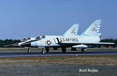 On 22 March 1968 the 318th Fighter Interceptor Squadron deployed to Osan AB from McChord AFB, Washington. This marked the first time in history that Aerospace Defense Command (ADC) F-106 fighter interceptors had flown to a critical overseas area, using in-flight refueling along with tactical air units.