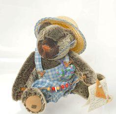 Mohair Teddy Bear Vintage Verena Greene 1994 by BaerreisCollection #TeddyBear #Mohair