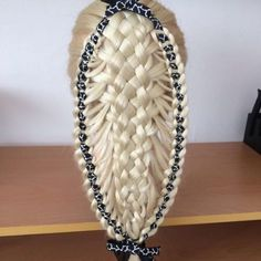 basket ribbon braid