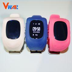 6 colors Vwar Original Q50 GPS Smart Kids Safe smart Watch Wristwatch SOS Call Location Finder Locator Tracker Anti Lost Monitor