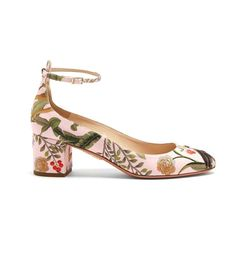 Italian brand Aquazzura has collaborated with an unexpected brand on the prettiest shoe collection ever—shop it here.