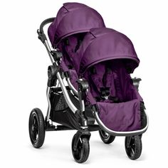 Baby Jogger City Mini GT Double Stroller The stroller we use for Grace and Lottie and comes most commonly recommended for two children. :)