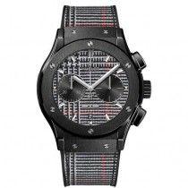 "Hublot Classic Fusion Chronograph Italia Independent Ceramico ""Prince de Galles"" Reloj 521.CM.2706.NR.ITI17"