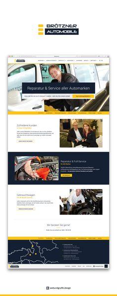 BRÖTZNER AUTOMOBILE  Das traditionsreiche Familienunternehmen mit drei Niederlassungen in ganz Salzburg wollte den Relaunch Ihrer Website in den gleichen Händen wie 2008 wissen.  http://webundgrafik.design/Brotzner-Automobile