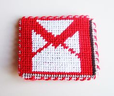 Gmail Needlepoint Magnet by lost_mitten, via Flickr