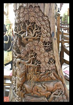 Do you want to know how to start woodworking business? Have you always dreamed of having a woodworking business but then so many things are stopping you? Driftwood Sculpture, Art Sculpture, Tree Carving, Wood Carving Art, Architecture Biologique, Diy Shed Kits, Wood Creations, Wooden Art, Wood Working For Beginners