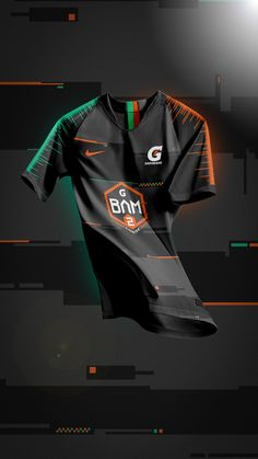 Gatorade BAM Jerseys on Behance Sports Jersey Design, Football Design, Jersey Designs, Grunt Style Shirts, Fishing Jacket, Manchester United Fans, Soccer Poster, Soccer Uniforms, Soccer Kits