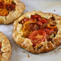 Fresh Tomato, Caramelized Onion, and Brie Cheese Galette