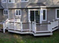 deck paint color ideas30 Best Small Deck Ideas Decorating Remodel  Photos  Decking