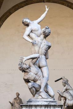 """The Rape of Polyxena"", sculpture by Pio Fedi 1866 Florence, Italy. Giorgio Vasari, Statues, Carpeaux, Rome Antique, Art Sculpture, Classical Art, Fine Art, Renaissance Art, Art History"