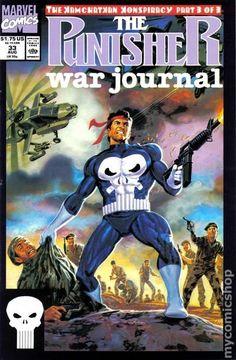 Punisher War Journal # 33 by Tom Palmer Marvel Comic Universe, Comics Universe, Marvel Comics, Punisher War Journal, Punisher Comics, Marvel Animation, Comic Books For Sale, Marvel Tattoos, Marvel Comic Character