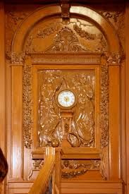 The clock from the grand staircase of the titanic