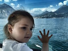 On Boat to Bellagio