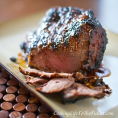 Grilled Beef Tenderloin in the Most Amazing Marinade