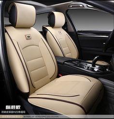 CAR SEAT COVERS full fit SEAT TOLEDO Eco leathe leatherette beige